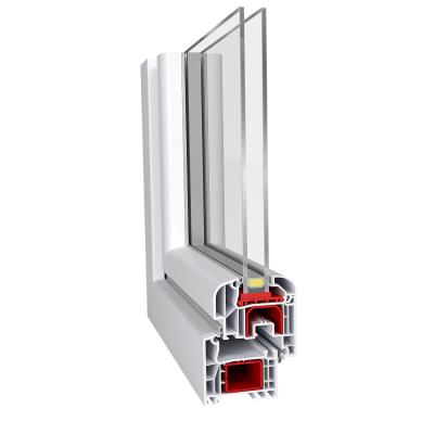 Aluplast IDEAL 4000 Round-Line műanyag ablak profil rendszer