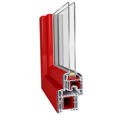 Aluplast IDEAL 4000 Aluskin műanyag ablak profil rendszer alumínium pattintós burkolattal