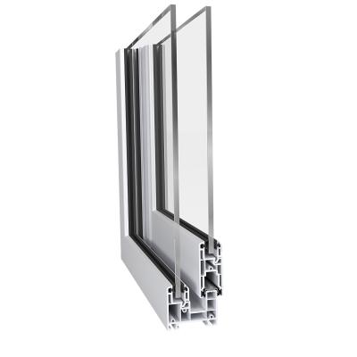Egyrétegű emelő-toló ablak rendszer