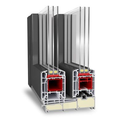 Aluplast emelő-toló rendszer hst 85mm