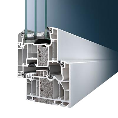 Schüco műanyag ablak profil rendszer si 82plus