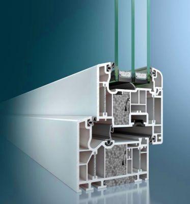 Schüco ThermoPlus SI 82 műanyag ablak profil