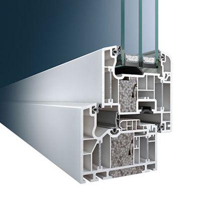 Schüco műanyag ablak profil rendszer ThermoPlus SI 82