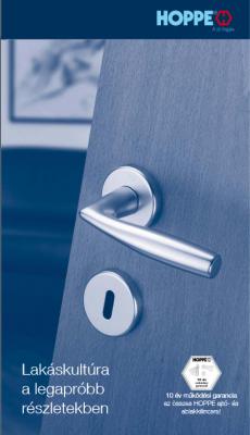 Bejárati ajtó  Hoppe katalógus